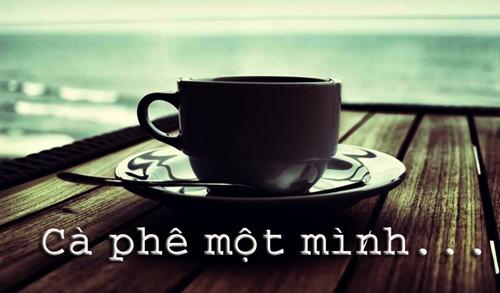 Chùm thơ tâm trạng bên ly cà phê buồn 1 mình