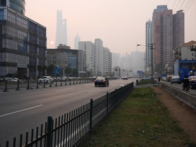 Pudong Avenue in Shanghai