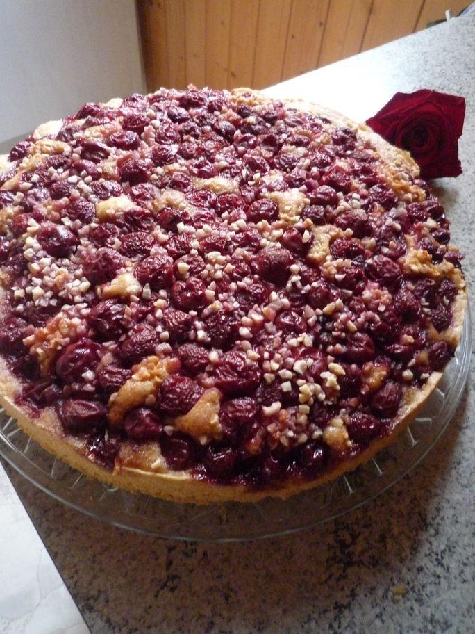 Kuchen Nr 2 Kirsch Mandel Kuchen Ani S Bunte Kuche
