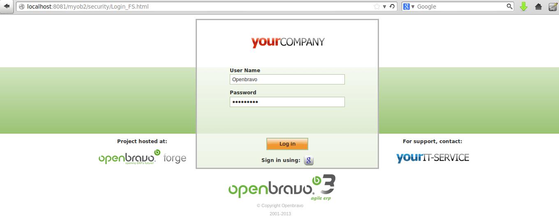 gambar login ke openbravo | wirabumisoftware.com