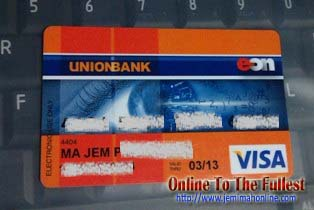 unionbank eon transaction password reset