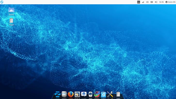Zorin OS OSX UI