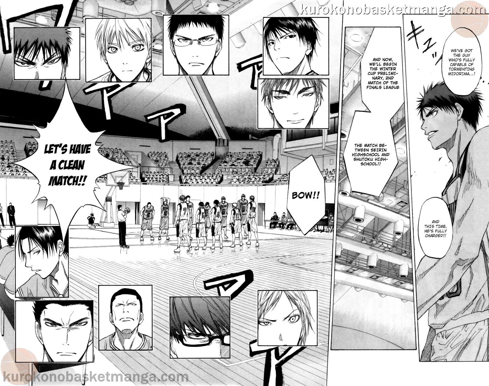 Kuroko no Basket Manga Chapter 86 - Image 04-05