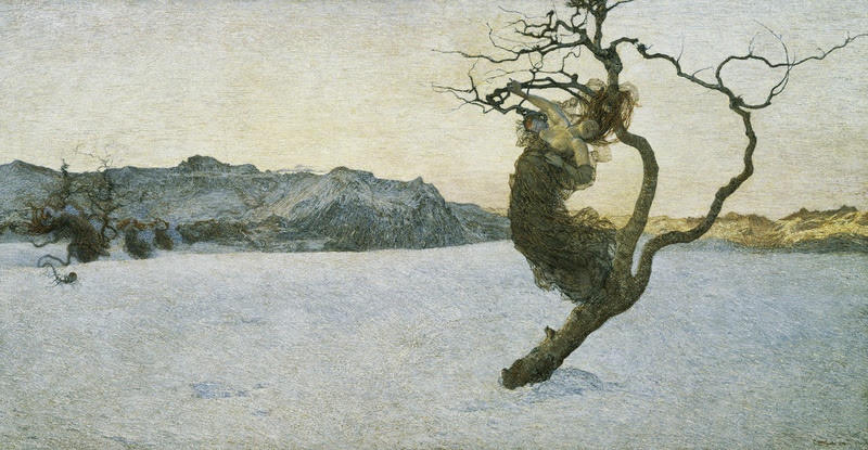 Giovanni Segantini - The Evil Mothers