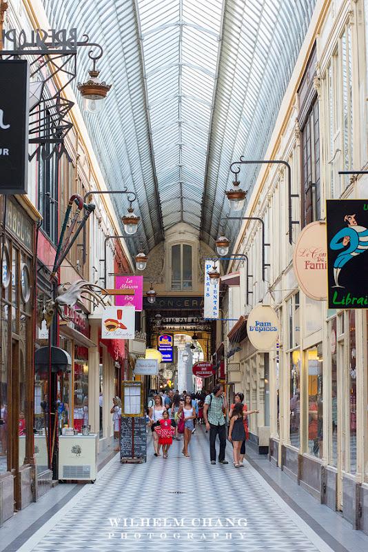 到巴黎攝影 茹弗魯瓦廊街 Passage Jouffroy