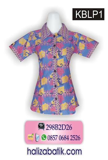grosir batik, baju modern, desain baju batik wanita