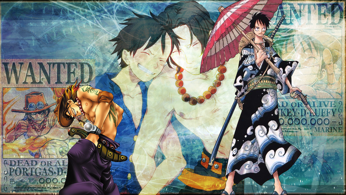 Go Back > Gallery For > Luffy And Ace Wallpaper