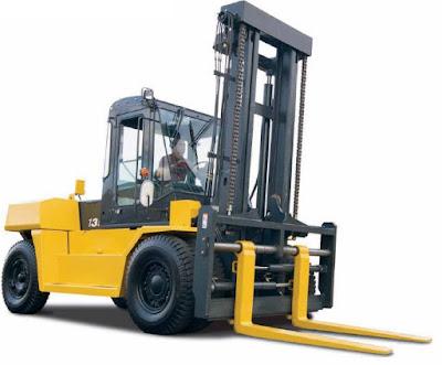 Xe nâng Komatsu 16 tấn FD160E-8