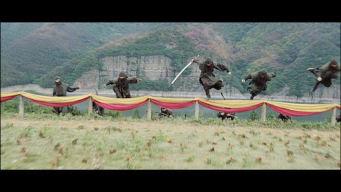 Airborne ninjas, no less!