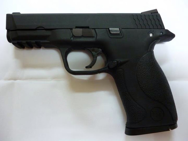 WE announces M&P 9mm GBB Airsoft Pistol, WE M&P 9mm GBB Pistol, James Chan, Smith & Wesson Airsoft Pistol, WE GBB Facebook Page, WE GBB Pistol, Smith & Wesson M&P 9mm Airsoft Pistol, S&W M&P 9mm Airsoft Pistol, S&W Airsoft Pistol, Pyramyd Airsoft Blog, Pyramid Airsoft Blog, Tom Harris Media, Tominator,