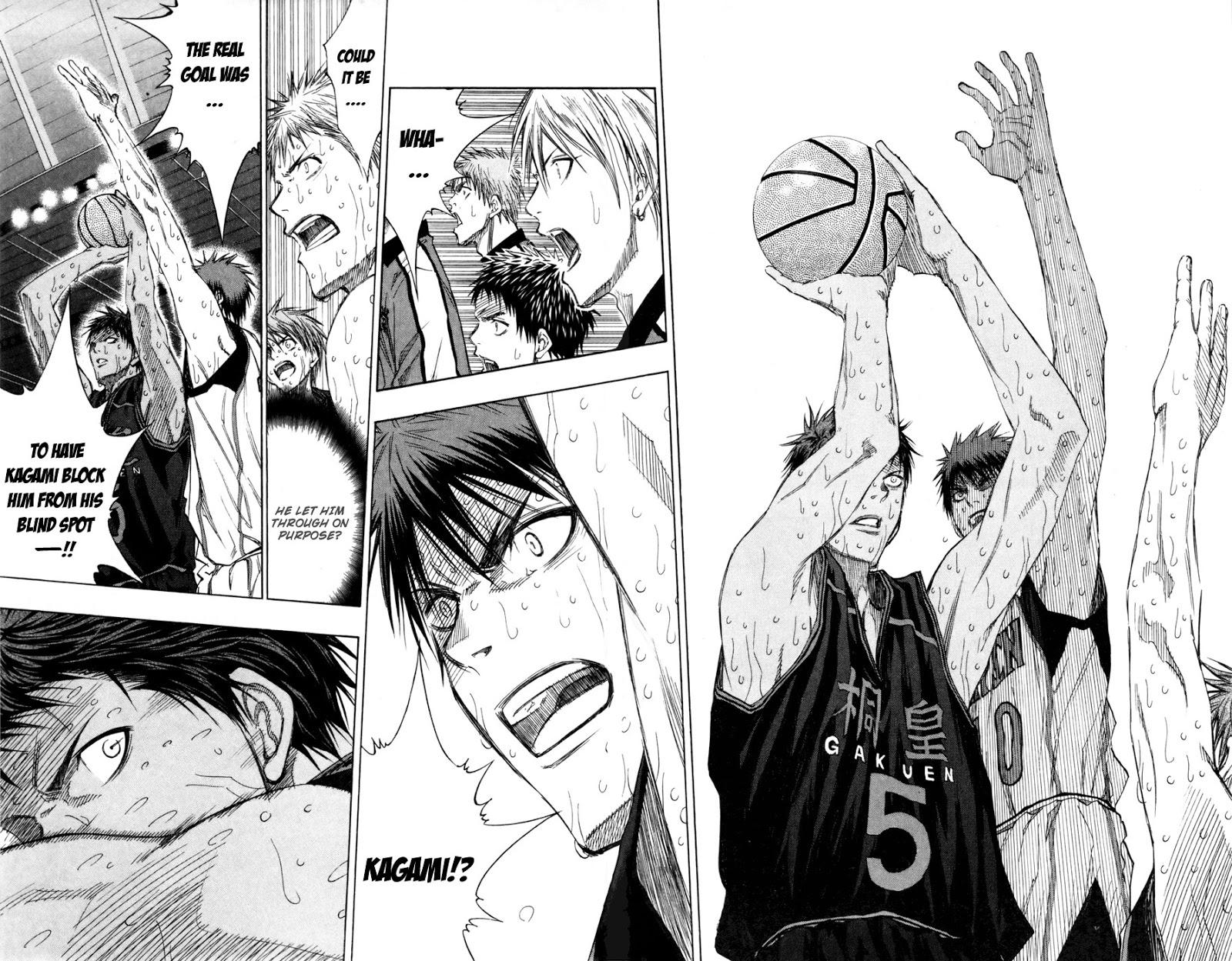 Kuroko no Basket Manga Chapter 132 - Image 07-07