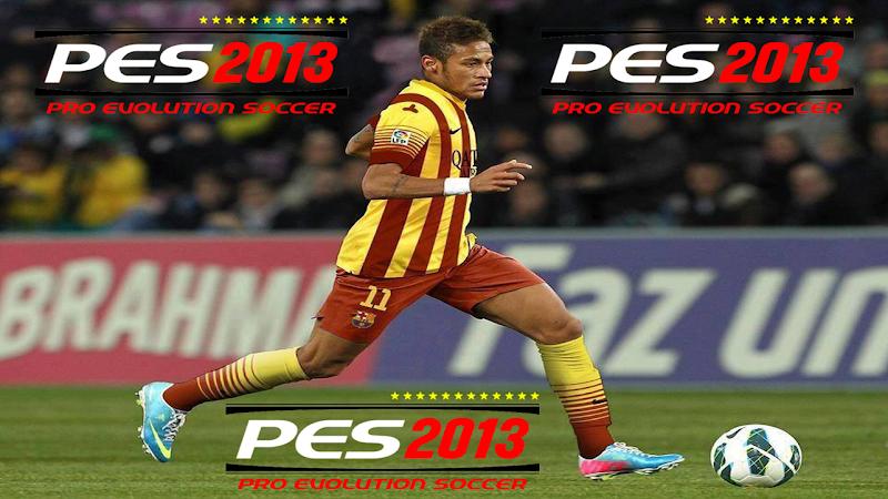 Neymar Barcelona Start Screen - PES 2013