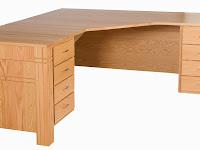 Oak Corner Desks