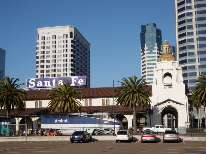 Los Angeles to San Diego • Santa Fe Station