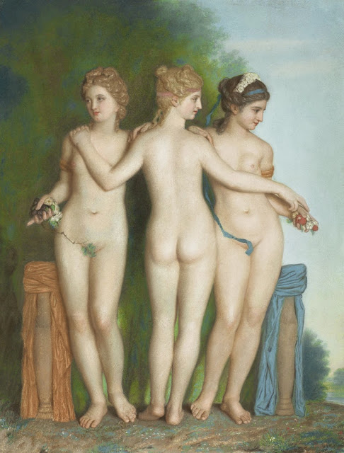 Jean-Etienne Liotard - The Three Graces