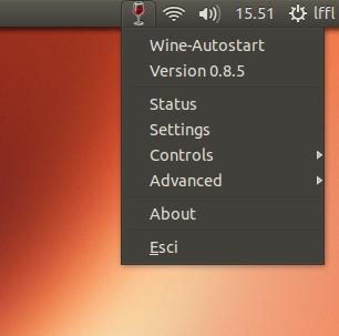 Wine Autostart in Ubuntu Linux