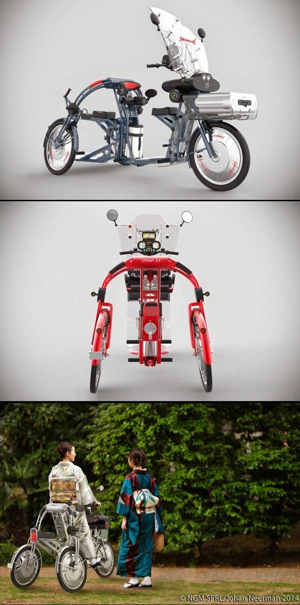 Serius Cool - Johanson 3 : Basikal Elekrtik Untuk Penunggang Berkain ...