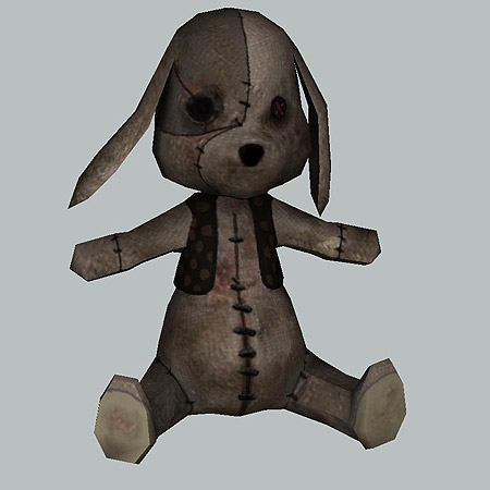 Alice Madness Returns Papercraft Rabbit Doll
