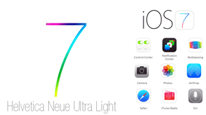 iOS7 - Helvetica Neue Ultra Light