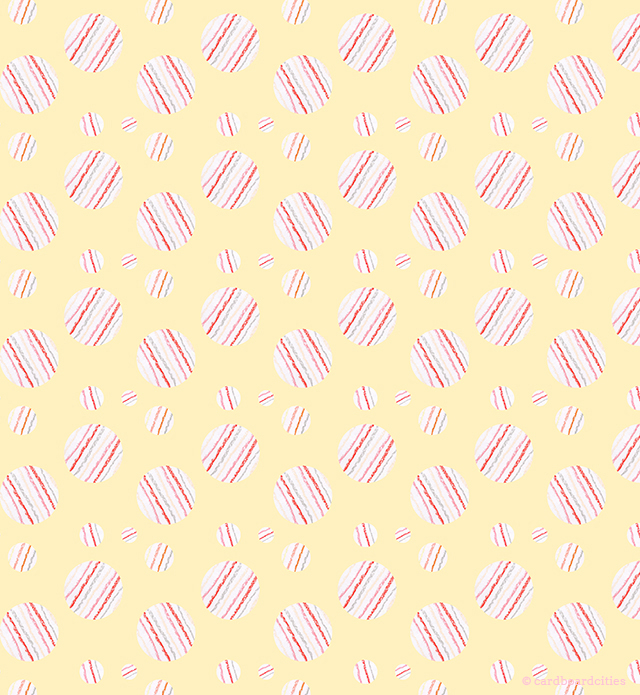 ysabel pattern (in pastel yellow) by laura redburn