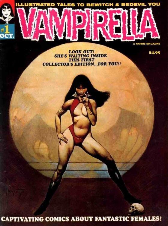 Vampirella 1 - Frank Frazetta