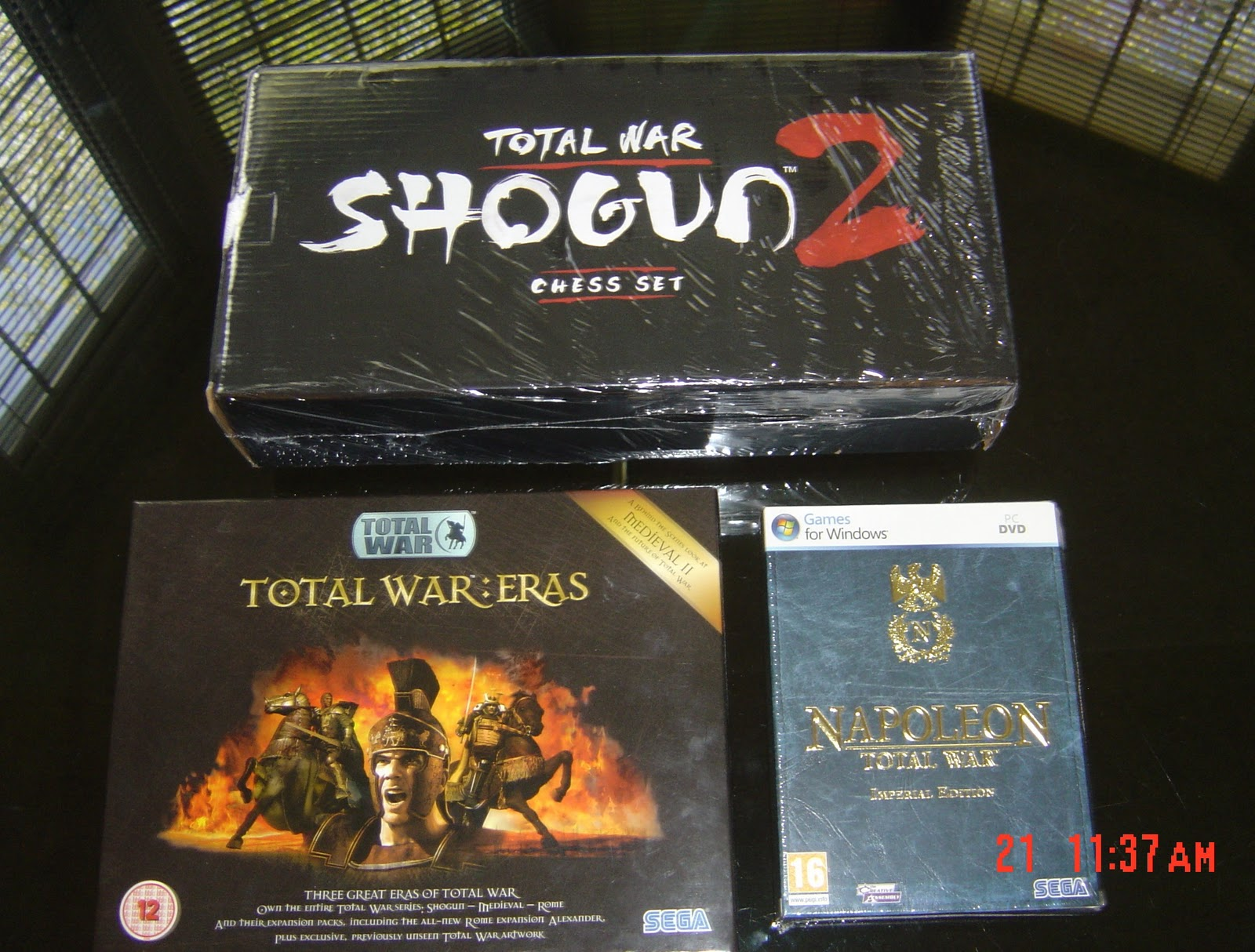 Total war: shogun 2 collector's edition unboxing youtube.