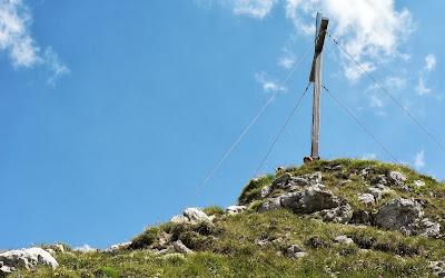 Gipfelkteuz Rubihorn Oberstdorf Allgäu