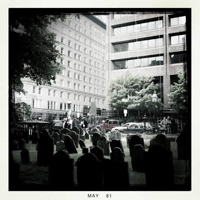 Graveyard in Boston