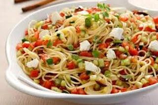 Μακαρονάδα Χωριάτικη, Traditional Spaghetti.