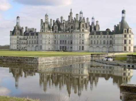 10 castillos europeos i top 10 listas - Castillo de chambord ...
