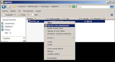 Instalar MDaemon 13.5.1 en un equipo con Windows Server 2008 R2