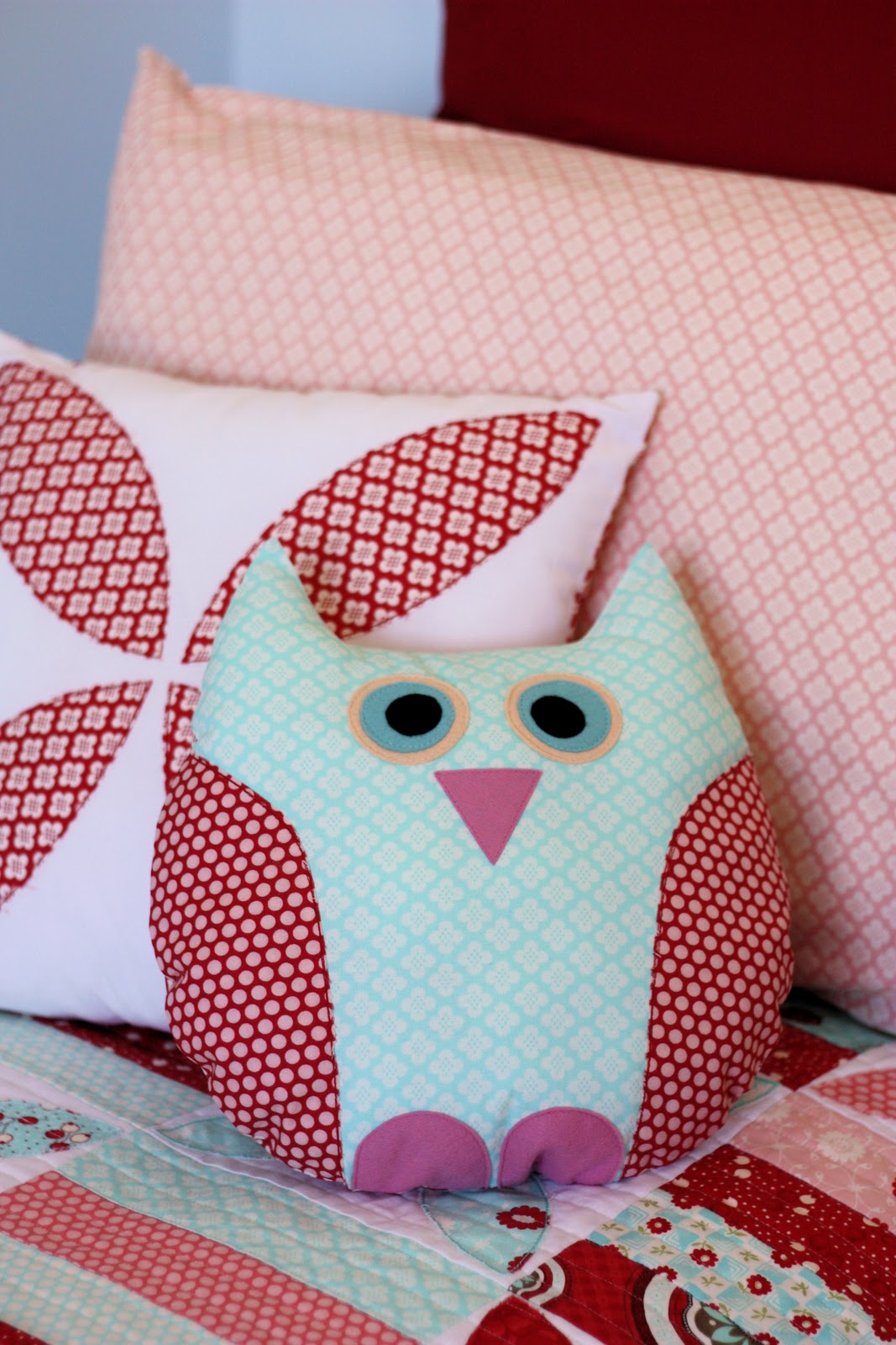 Owl Pillow Pattern Owl Pillow A Spoonful Of Sugar