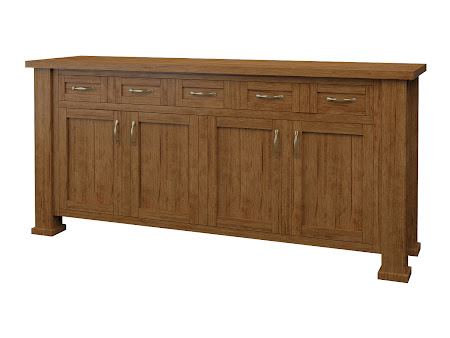 Hagen Credenza in Como Maple