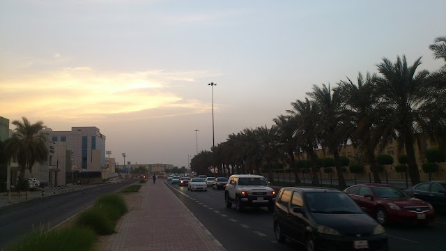 Woqud petrol pump near the mall and al hilal