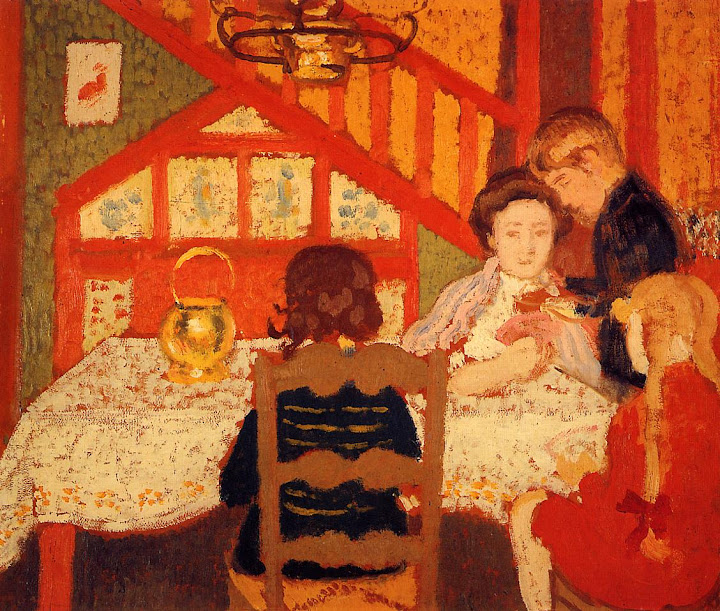Georges Lemmen - Family Gathering in Saint-Idesbald