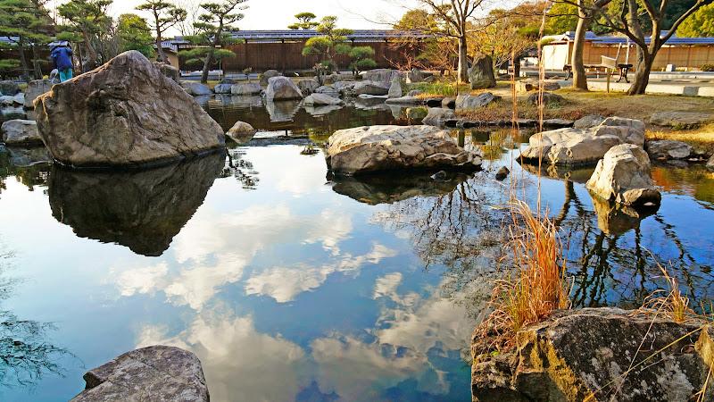 松山城二之丸史跡庭園 写真4