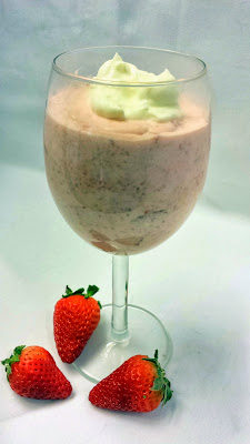 A Nice April Fool's recipe with no trick- the Strawberry Fool