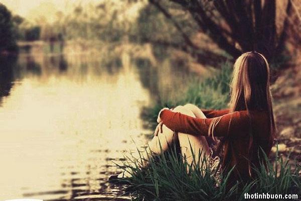 thơ tâm trạng buồn của người con gái