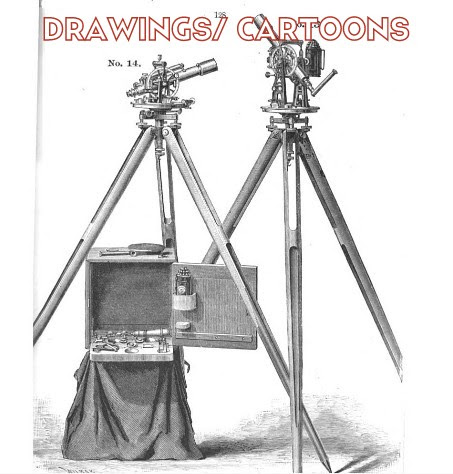 Surveying Related Drawings and Cartoons