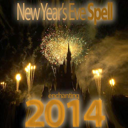 New Year Eve Spell Out With The Old In With The New