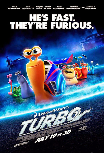 Τούρμπο Turbo Movie Poster