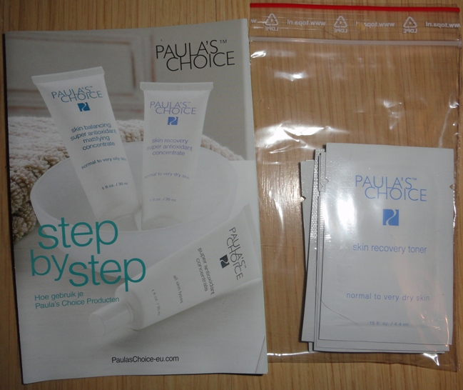 Oh My Gosh: I won: Paula's Choice Samples