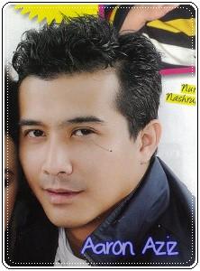 ... cover majalah Media Hiburan Jun 2011, saya crop gambor Aaron jer