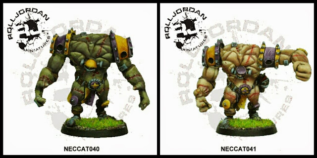 Big Golems Blood Bowl RollJordan Miniatures