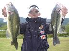 8位 積田勝プロ(河A85) 5本 2,700g 2011-10-28T01:08:06.000Z