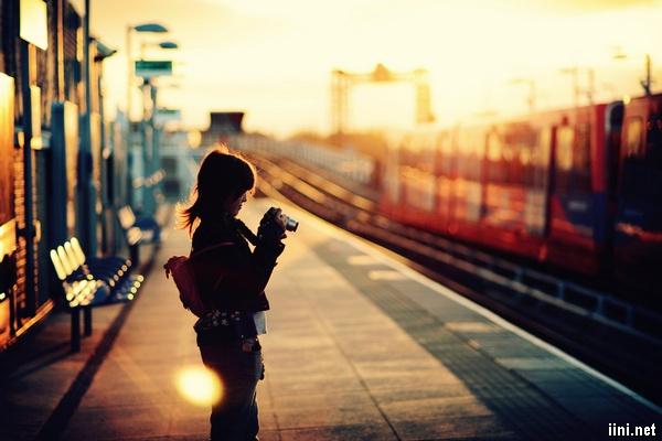 thơ tình buồn sân ga