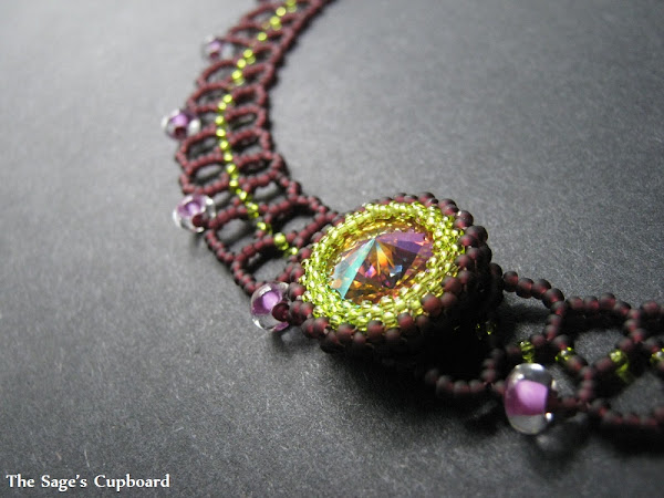 Grape Rivoli Collar