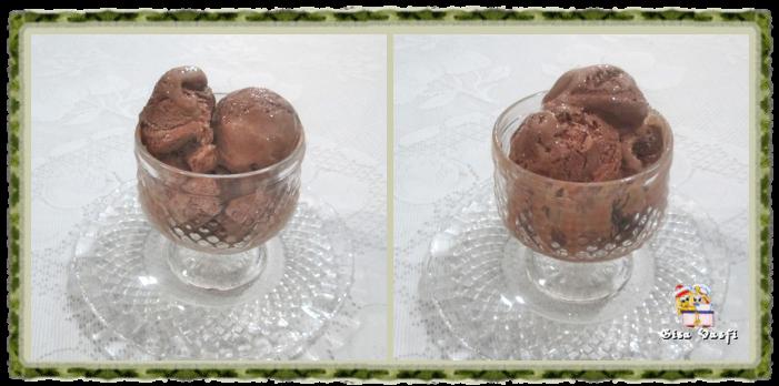 Sorvete de chocolate 1