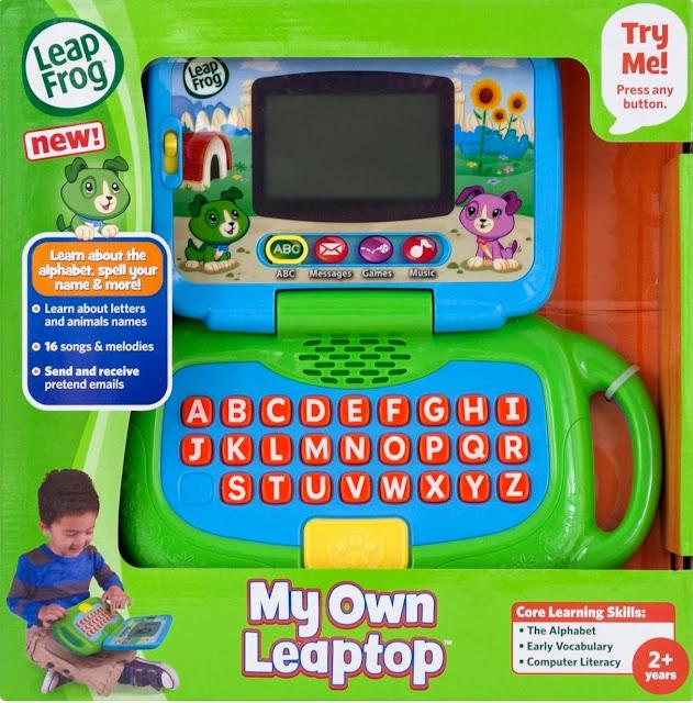 Hình ảnh bao bì sản phẩm Laptop LeapFrog của bé