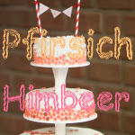 Himbeer-Pfirsich-Torte